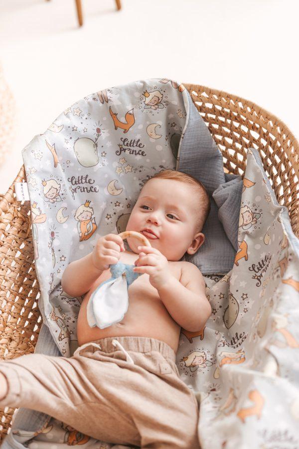"""užklotukas pledukas kūdikiui """"Mažasis princas"""""""