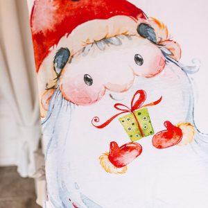 kalėdinis pledukas Santa