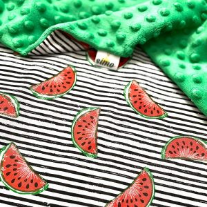 "baby blanket ""water melon"""
