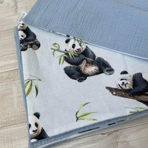muslino pledukas su pandom